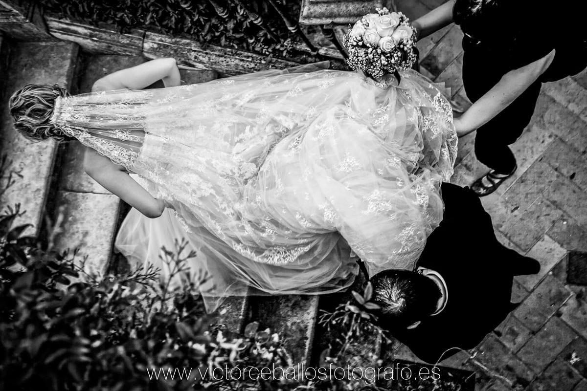 fotos boda velo novia