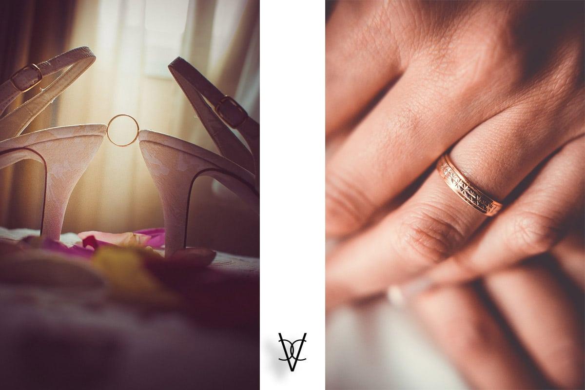 fotografía detalles anillos