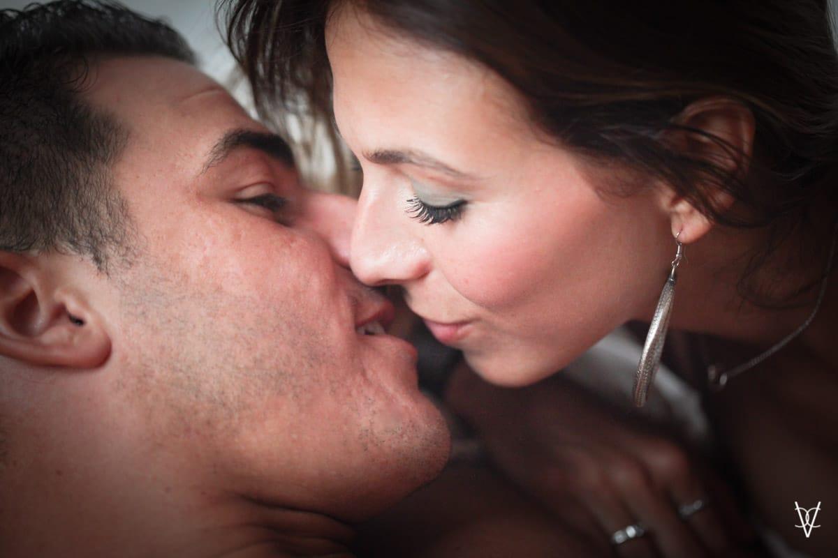 imagen de beso
