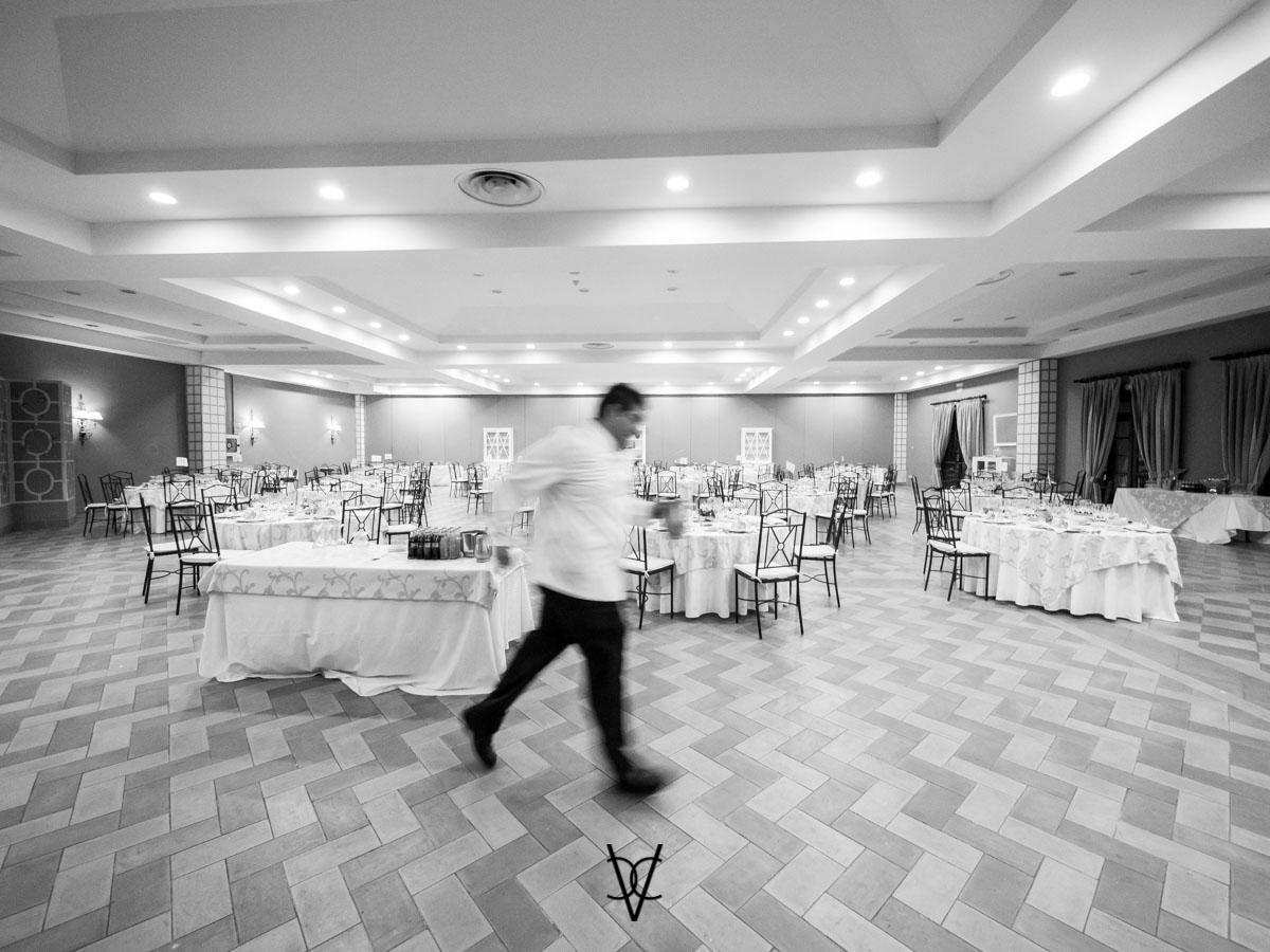 fotografía novios en hotel Alfonso XIII Sevilla prisas antes del covite